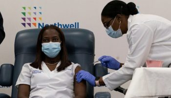 NY Nurse Is First American to Receive COVID-19 Vaccine