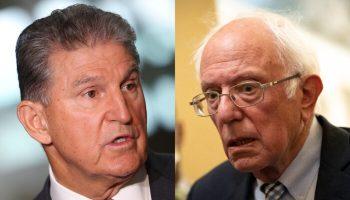 Manchin Responds to 'Socialist' Sanders Over Disparaging Op-ed in West Virginia Newspaper