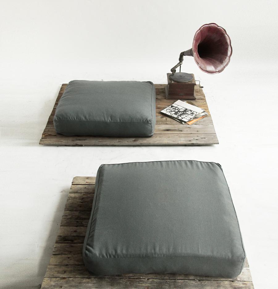 Grossi cuscini da seduta vintage pillows oreillers
