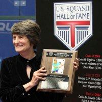 Joyce Davenport inducted into U.S. Squash Hall of Fame