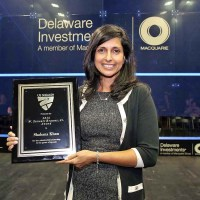 2016 Brauns Award Given to Shabana Khan at U.S. Open