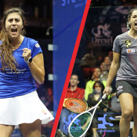 World's Top Two Women to Contest U.S. Open Final; Rosner Tops Defending Champ Farag