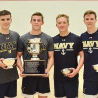 Navy Dominates Intercollegiate Doubles