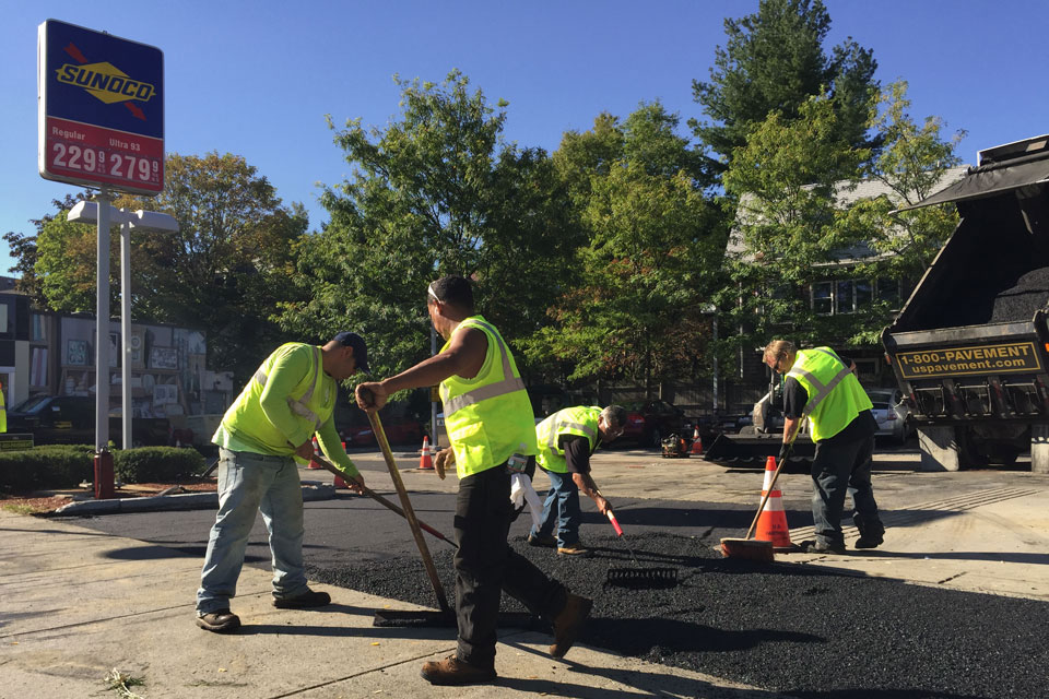 patching pothole repair for