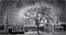 deserted houses