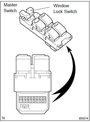 Power Window Master Switch 25401-EB30B for Nissan Navara