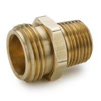 "3/4"" MGHT x 1/4"" MPT Brass Garden Hose Fitting | U.S ..."