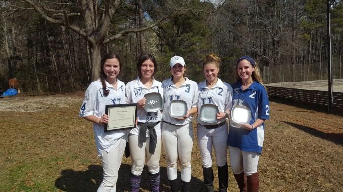 Southeastern Intercollegiate Women's Preliminary Winners