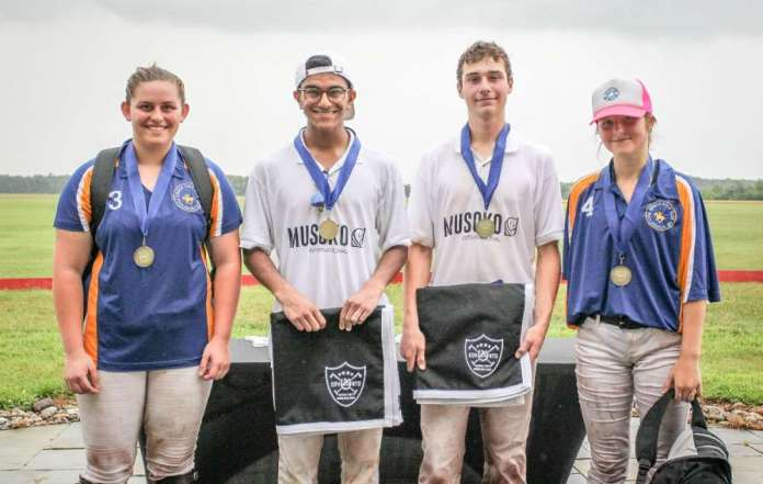 Seneca Polo Club NYTS Qualifier All-Stars: Emily Wiley, Aman Sharma, Pelham Hardie, Sophia Bignoli