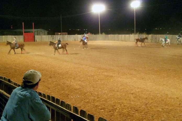 Coached scrimmages during CPI Robin Sanchez's October clinic at Texas Tech Polo Club in Lubbock, Texas.