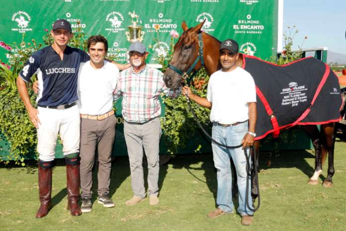 Best Playing Pony: Gypsy, played and owned by Jeff Hall, pictured with Agustin Cinti, Penacho and Dario Arabena.