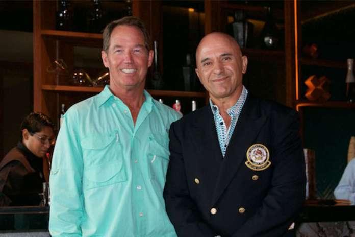 Tony with USPA Governor-at-Large Scott Walker. ©Mariano Lemus