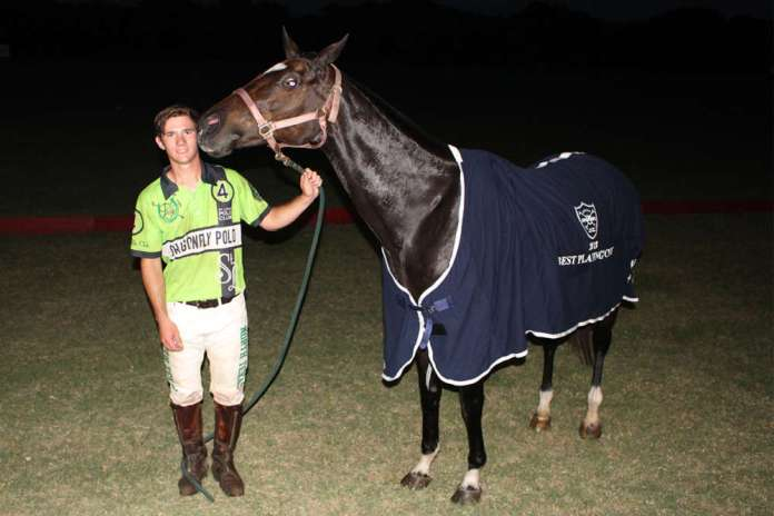 Best Playing Pony Califa, owned by Pretonwood Polo and played by Andrew Scott.