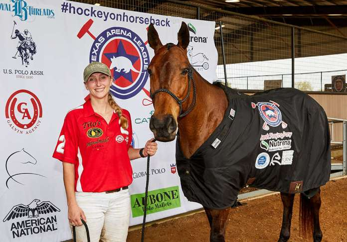 Nutrena Best Playing Pony Blitz, played and owned by Lara Straussfeld.
