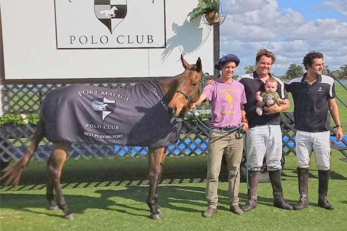 Best Playing Pony was presented to Robert Orthwein's Cora.