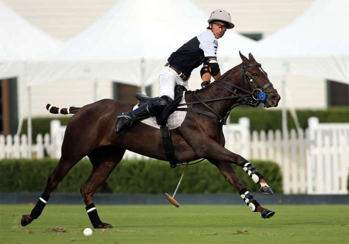 Best Playing Pony of the Ylvisaker Cup Final: One Juliana, played and owned by Jorge 'Tolito' Fernandez Ocampo Jr.