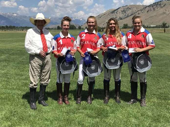 Jackson NYTS Qualifier winners: Pecan Acres - (L to R) Paul Von Gontard, Grace Parker, Grace Mudra, Athena Malin, Courtney Price.