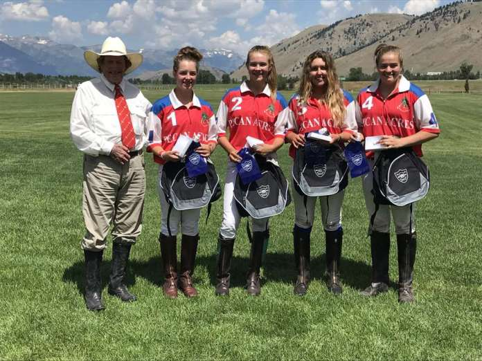 Jackson NYTS Qualifier winners: Pecan Acres - (L to R) Paul Von Gontard, Grace Parker, Grace Mudra, Athena Malin, Courtney Price.