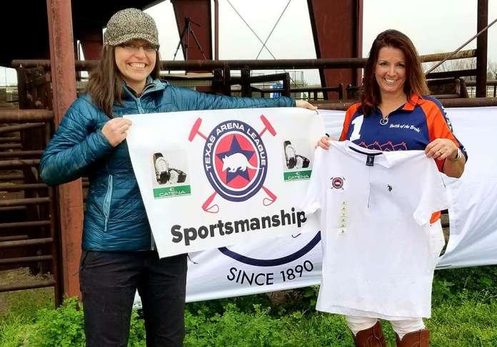 Kim Buttram won the Catena Sportsmanship Award. Presented by Melanie Myr.