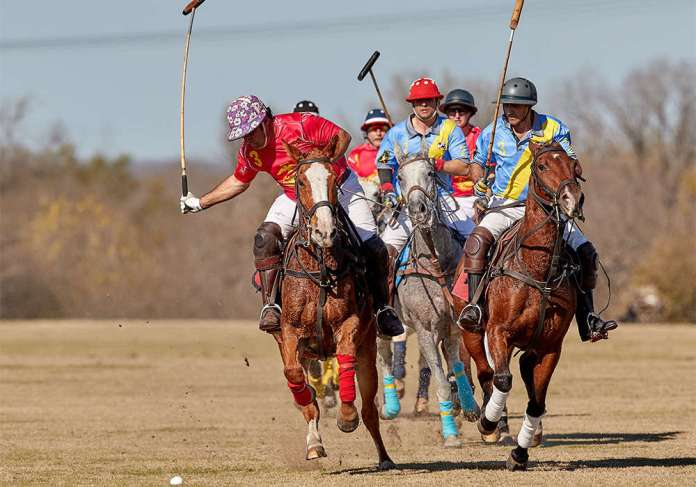 *Most Valuable Player Agustin Arrayago of Marine Corp leads the field on a breakaway (AA0I1187_0556) ©David Murrell web