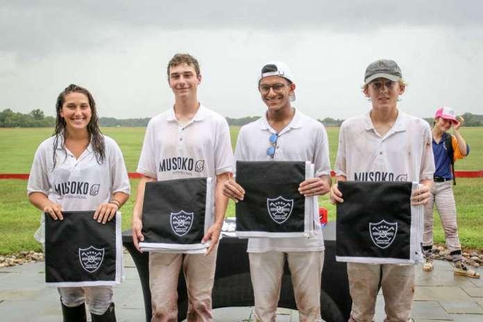 Seneca Polo Club NYTS Qualifier Winners: Musoko - (L to R) Bella Hamon, Pelham Hardie, Aman Sharma, Jim Deal