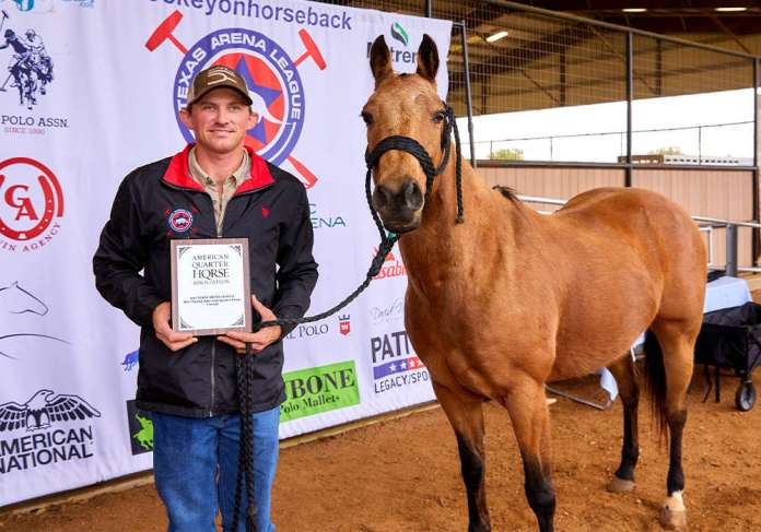 Nutrena Best Playing Pony Sonita, played and owned by Brady Williams. ©David Murrell