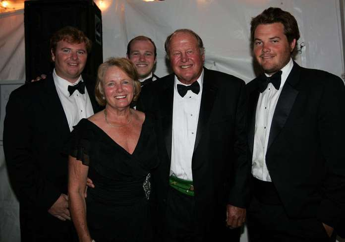 Orthwein family at the 2011 Museum of Polo and Hall of Fame Induction.