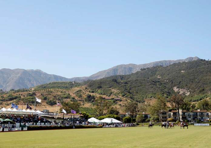Picture perfect day for polo at Santa Barbara ©David Lominska