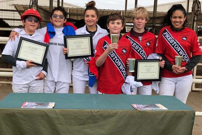 Prestonwood Polo Club Middle School Tournament participants.