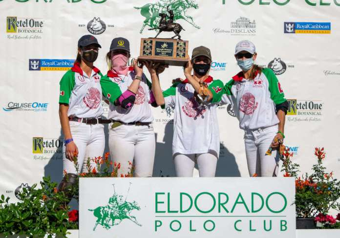 2020 Pacific Coast Circuit Women's Challenge B-Flight Champions: La Herradura - Rose Brownridge, Maggie Papka, Catlin Dix, Dayelle Fargey.