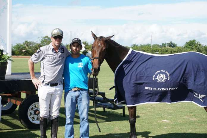 Best Playing Pony Pitkin, played by Pablo Dorignac and owned by Santa Rita Polo Farm. ©ChukkerTV.