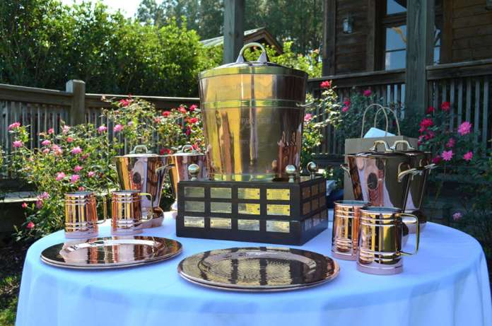 The impressive National Copper Cup® trophy spread.