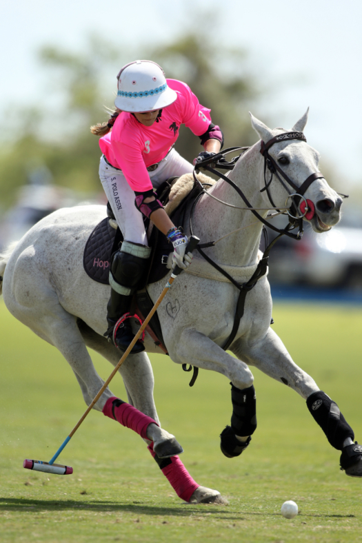Dundas' Hope Arellano playing in the 2021 U.S. Open Women's Polo Championship® will face many of the same elite players in the 2021 Argentine Women's Open. ©David Lominska