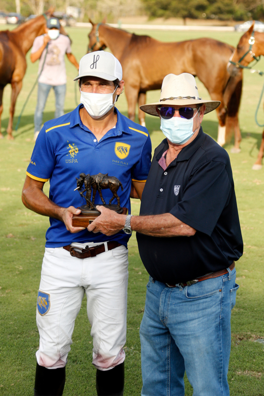 International Polo Club Best String of the Season: Hilario Ulloa, presented by Jimmy Newman.