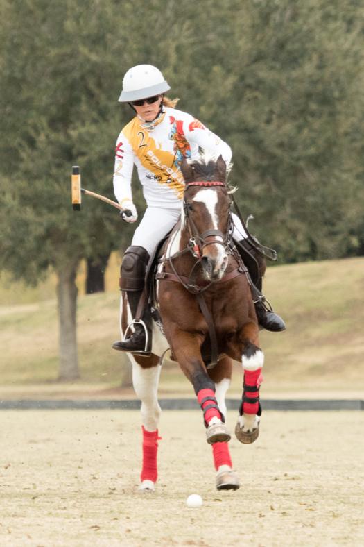 Dawn Jones and Pretty Bird Woman at Houston Polo Club. ©Kaylee Wroe
