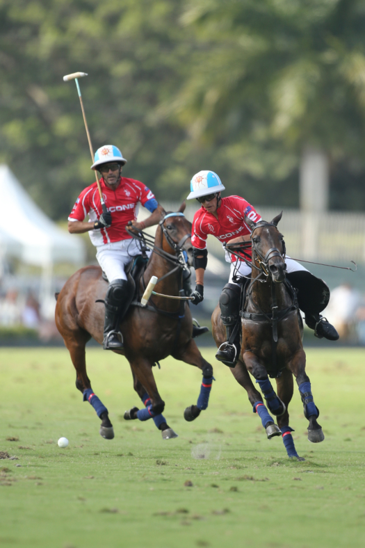 Scone's Adolfo Cambiaso plays in his ninth U.S. Open Polo Championship®, but his first alongside 15-year-old son Poroto Cambiaso.