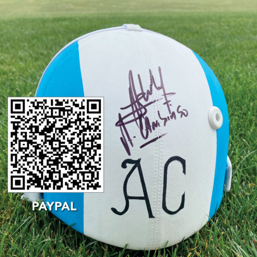 Use the QR code or the link below to purchase a helmet raffle ticket.