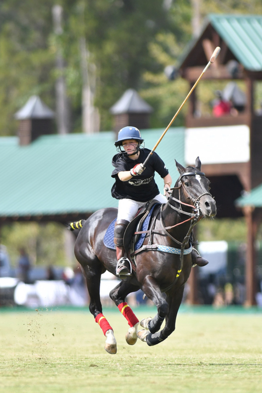 Robyn Leitner riding Best Playing Pony, Miley.