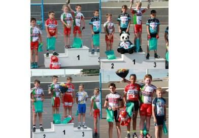 Podiums et victoires pour l'école de Vélo à nouveau ce WE