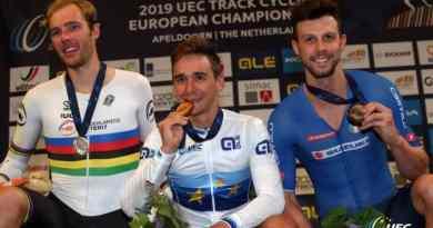 Monumental ! Bryan Coquard Champion d'Europe de la course aux points