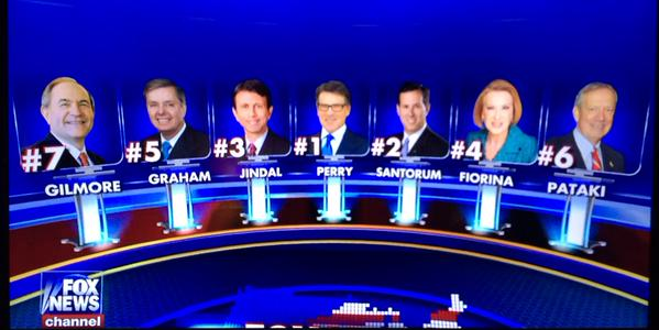 5pm Fox News Debate