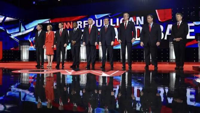 Full Video Watch The Cnn Gop Debate From Las Vegas