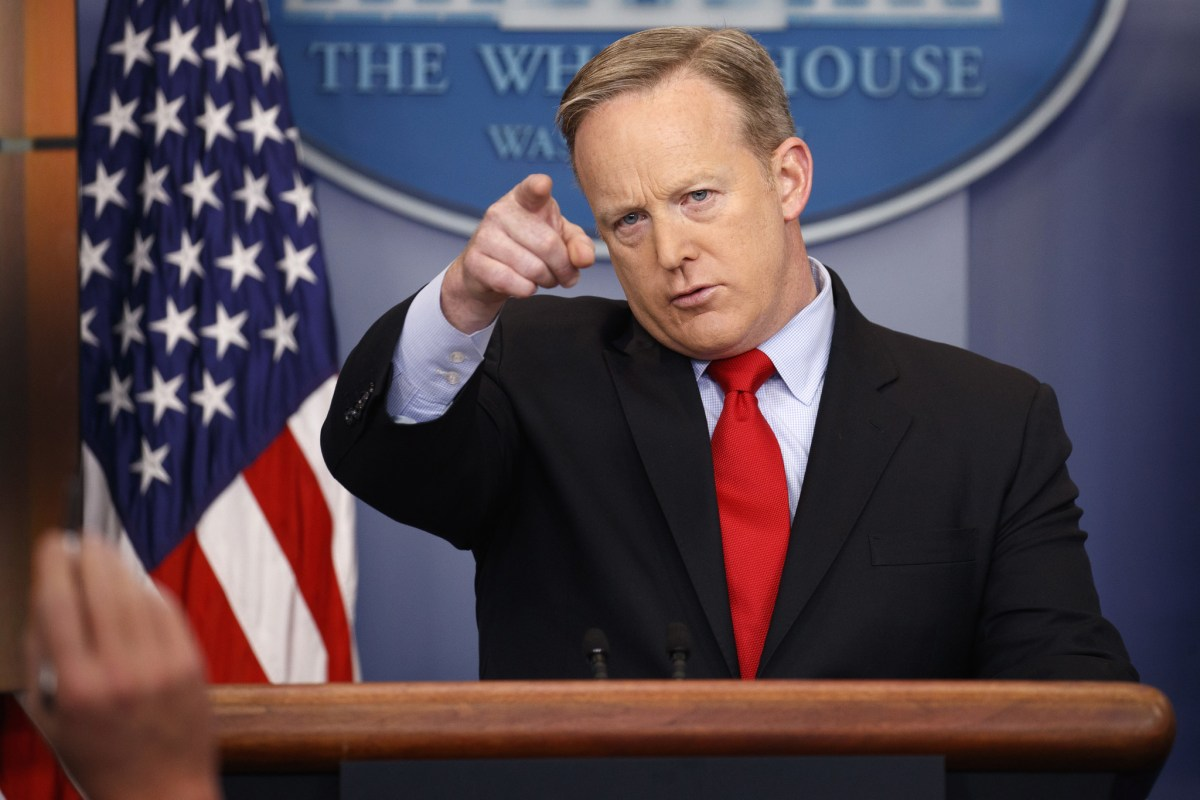 Sean Spicer Resigns as White House Press Secretary