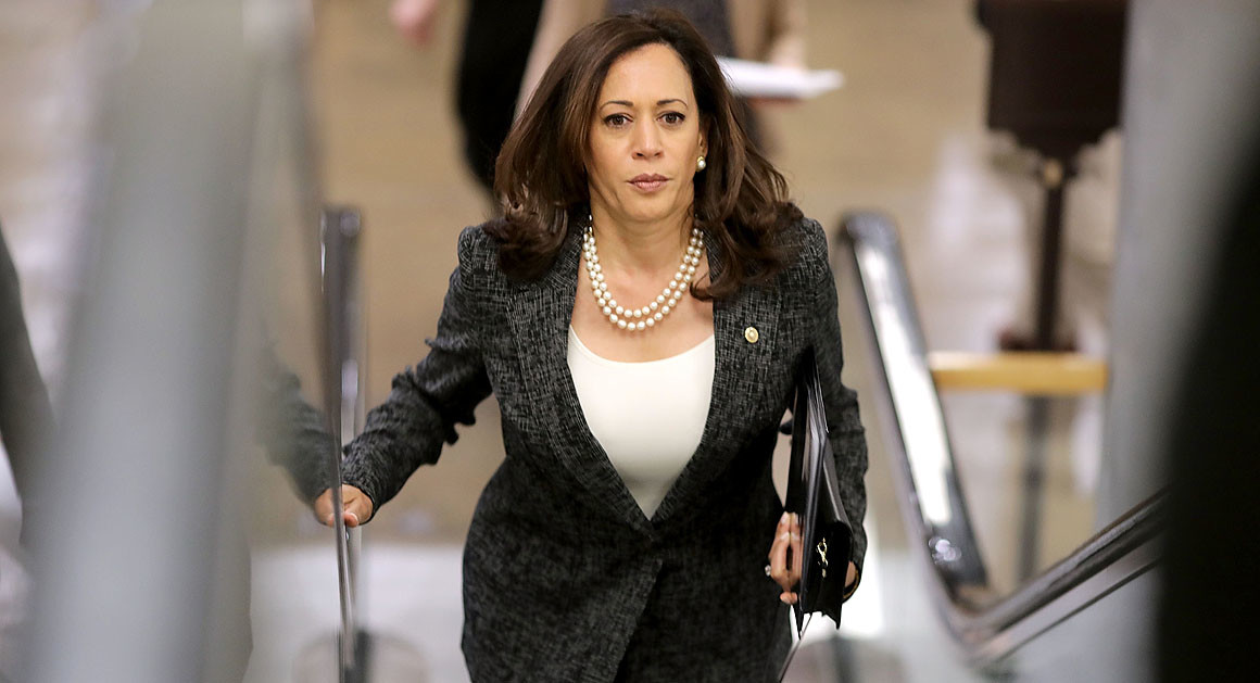 Donors Say Sen. Kamala Harris is Running for President