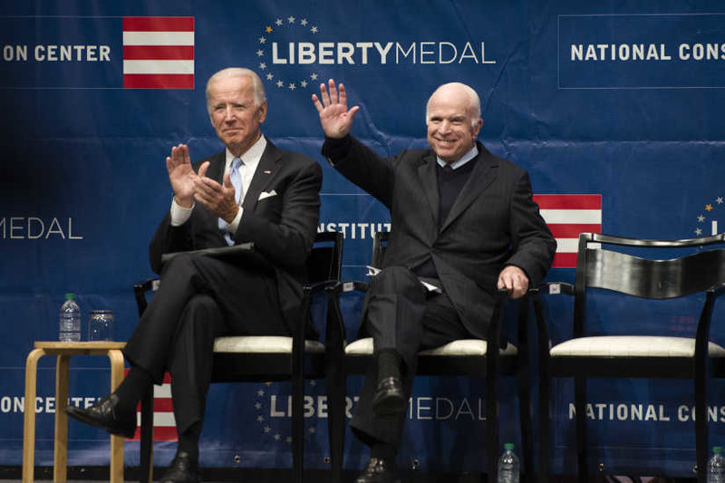 "McCain Slaps ""Half-Baked, Spurious Nationalism"" in Philly Speech"