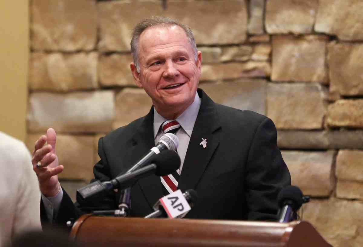 Why Roy Moore Will Win The Alabama Senate Seat