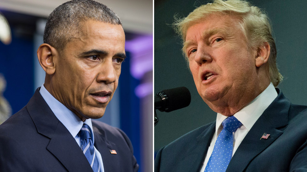 Trump Rebuked In 2017, Obama Rebuked In 2009