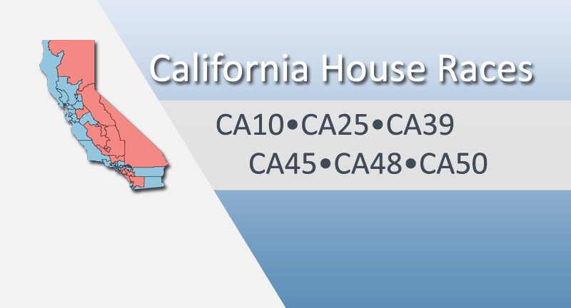Race Spotlight: California House Toss-up Districts
