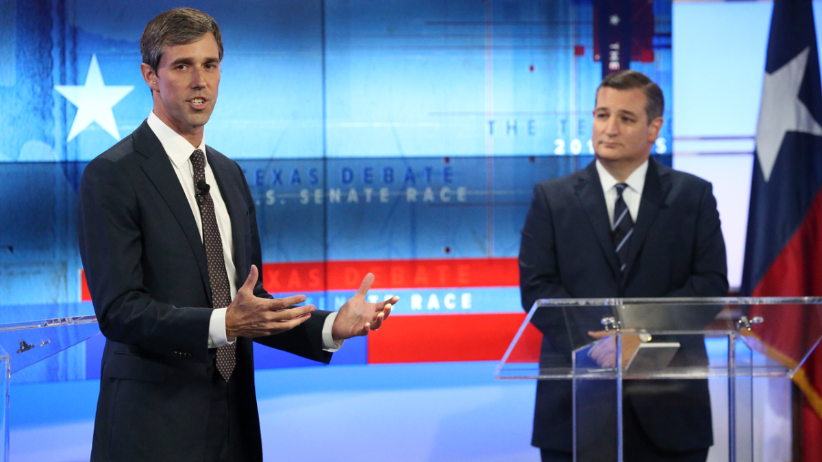 Cruz and O'Rourke on Offense in Final Debate