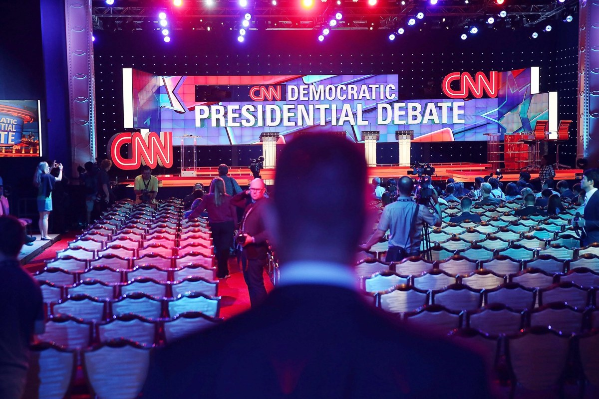 First 2020 Democratic Primary Debate Looms Over Large Field